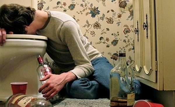Похмелье после принятого алкоголя