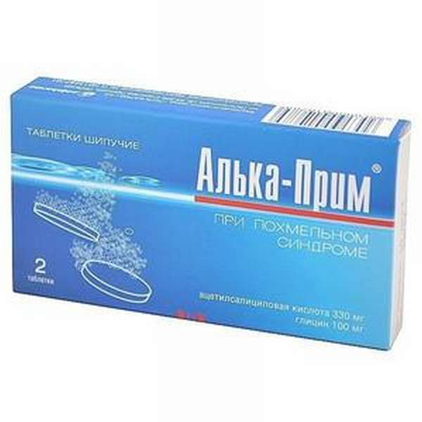 Алька прим – препарат от похмелья