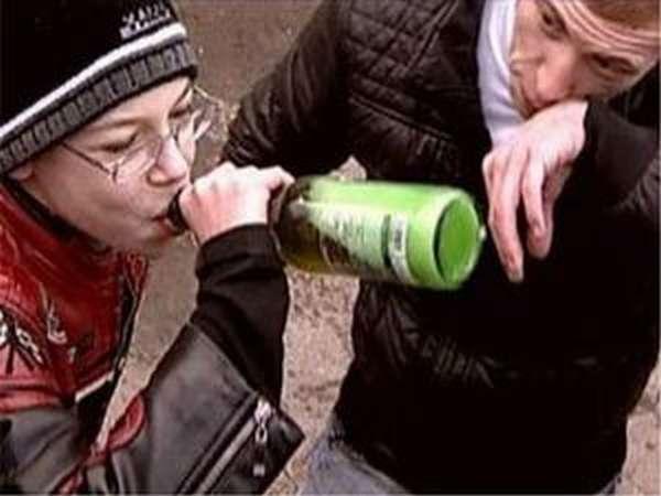 Алкоголизм среди подростков