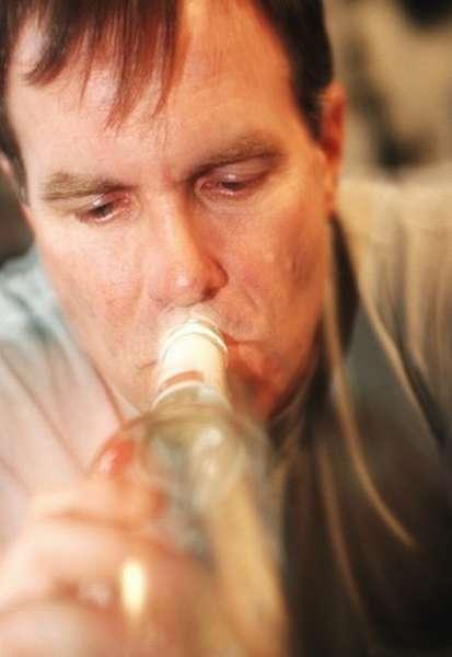 Алкогольная энцефалопатия у пациента