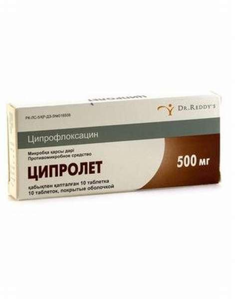 Ципролет назначение препарата