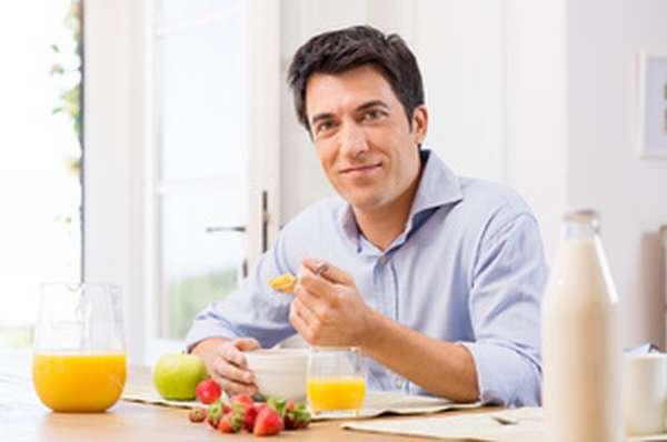 Диета против «пивного» живота - завтрак
