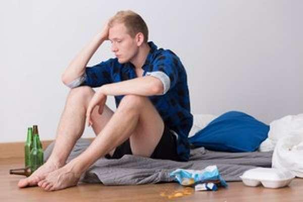 Достаточно часто симптомы этого явления проявляются у практически непьющих людей