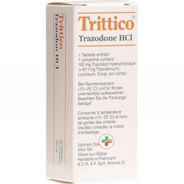 Хороший антидепрессант Триттико (Trittico) 150 мг