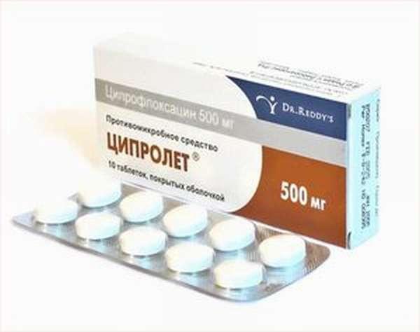 Как использовать лекарство ципролет