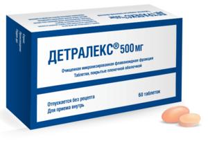 Как использовать лекарство детралекс
