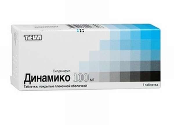 Прием препарата динамико
