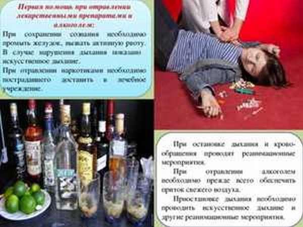 Лечение после алкогольного отравления