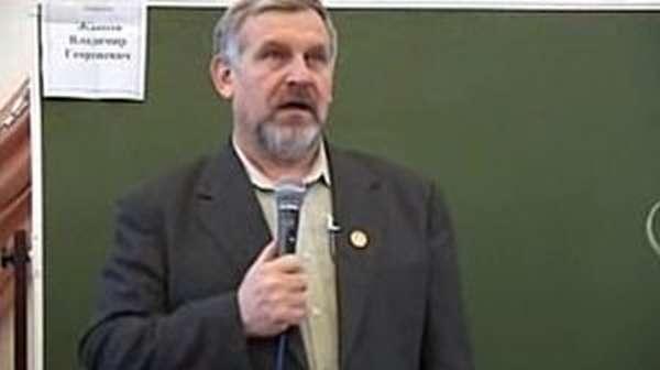 Лектор Жданов о вреде алкоголя