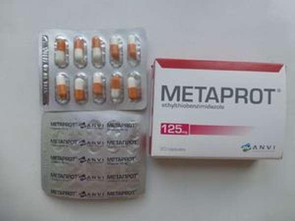 Метапрот - инструкция к препарату