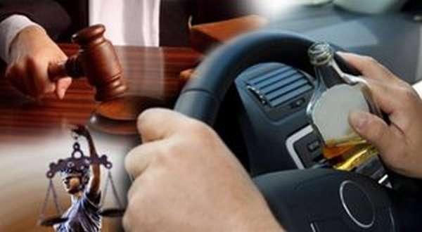 Наказания за вождение в нетрезвом виде