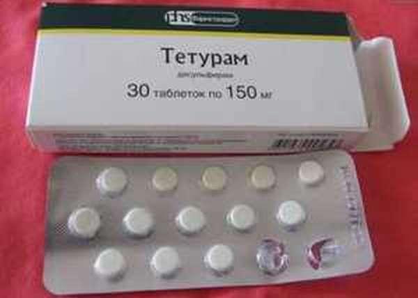 Недорогой препарат от алкоголизма - Тетурам