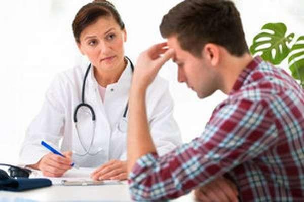 Обследование у врача перед кодированием