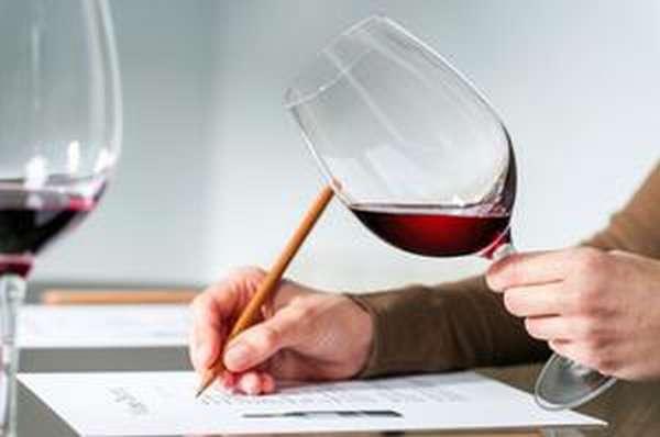 Описание результатов исследований красного вина