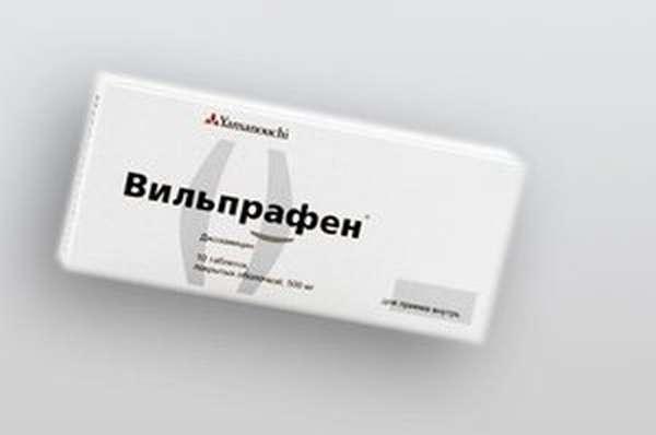 Особенности лекарства вильпрафен
