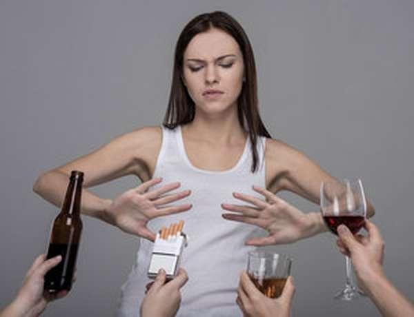 Как отказаться от алкоголя женщине