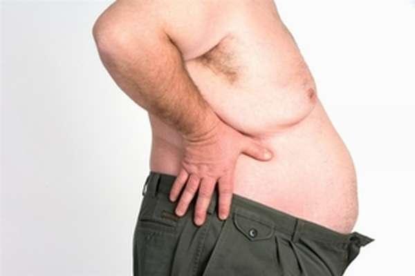 Ожирение и висцеральный жир у мужчин являются причиной рака