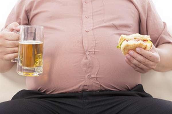 Пивной алкоголизм: последствия