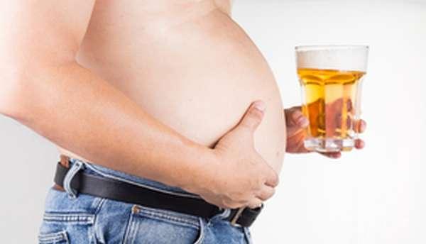 Пивной живот - ожирение, в запущенной форме приводящее к сердечной недостаточности