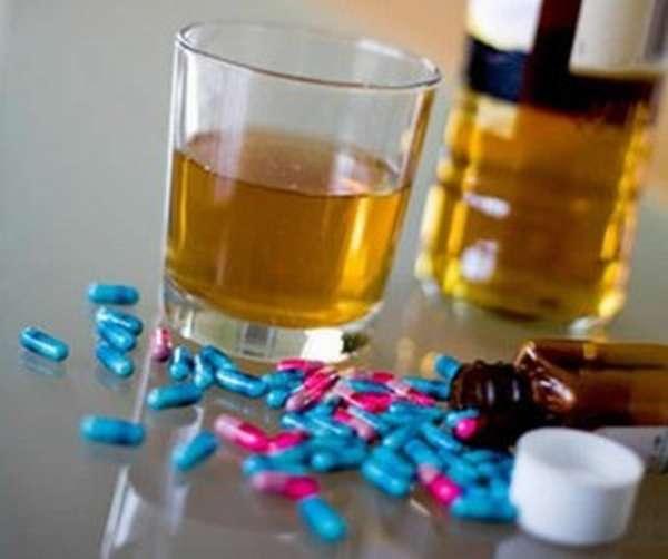 Прием виагры и алкоголя