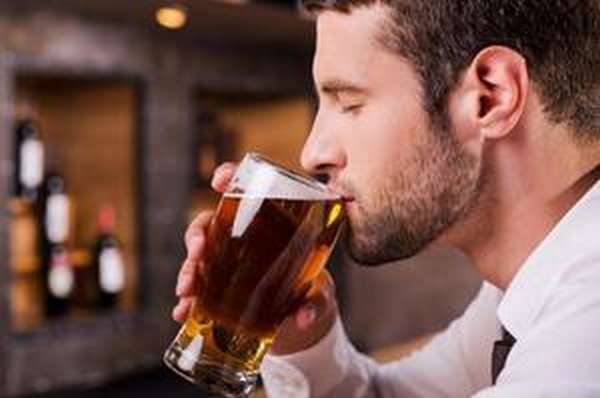 Приме антибиотиков и пиво