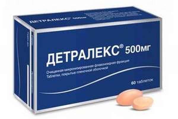 Применение препарата детралекс