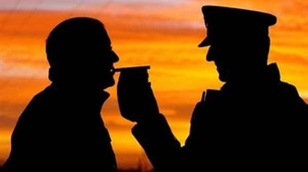 Проверка алкотестером
