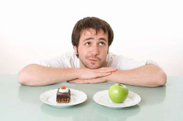 рацион правильного питания для мужчины
