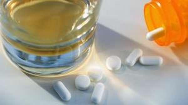 Реакция организма на алкоголь и лекарства