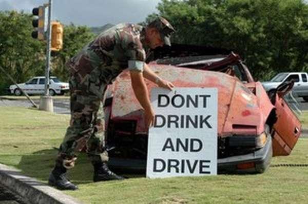 Штрафы за вождение в пьяном виде