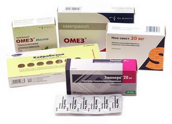 Сочетание Омеза с другими медикаментами