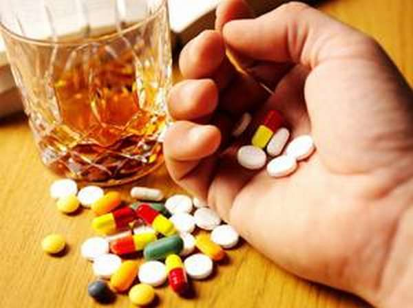 Спиртное и антибиотики