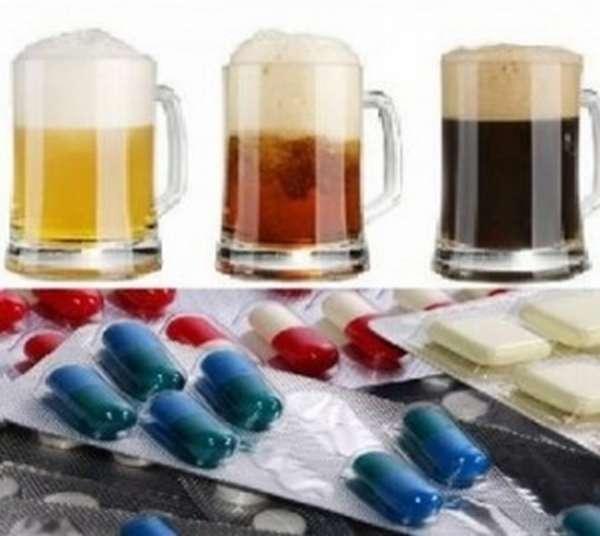 Список несовместимых препаратов с алкоголем