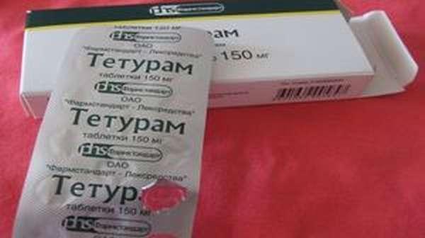 Таблетки Тетурам: инструкция