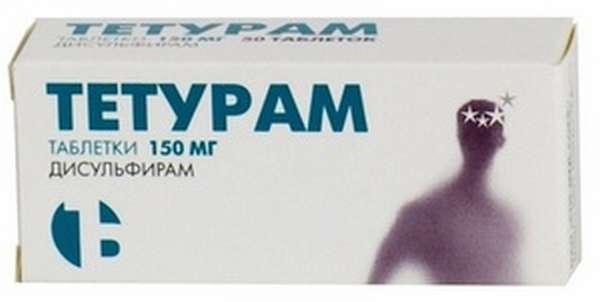 Таблетки Тетурам: последствия применения