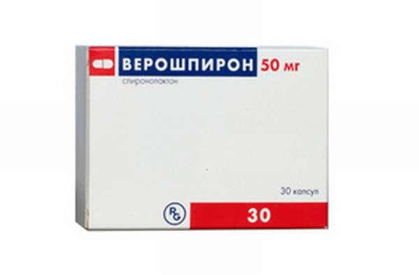 Таблетки Верошпирон при похмелье