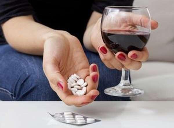 Усиление побочных эффектов Ацикловира от алкоголя