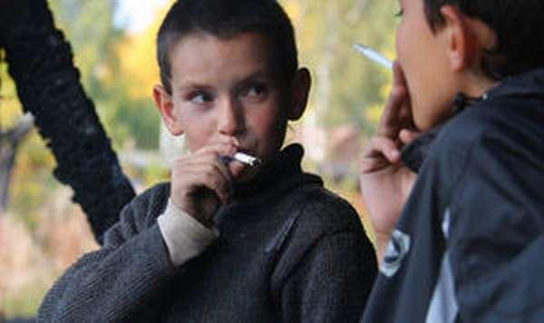 Влияние курения на детский организм