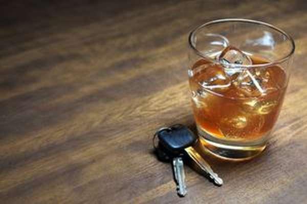 Вождение автомобиля под воздействием алкоголя