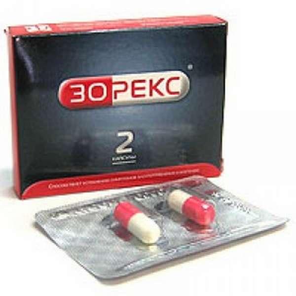 Зорекс - препарат от похмелья