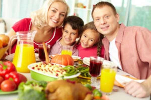 Правильное питание для всей семьи