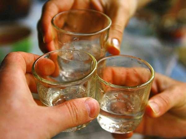 Питание водкой