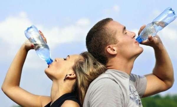 Для восстановления необходимо пить много воды