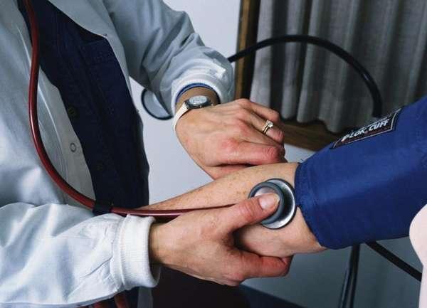 Показания к приему - артериальная гипертензия