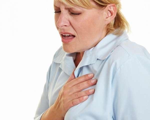 При передозировке могут быть спазмы в легких