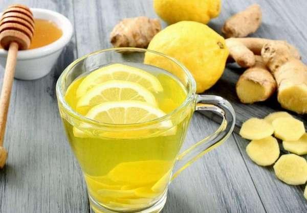 Лимон, имбирь и мед