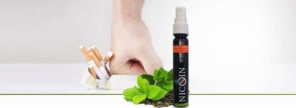 Спрей Nicoin от никотиновой зависимости