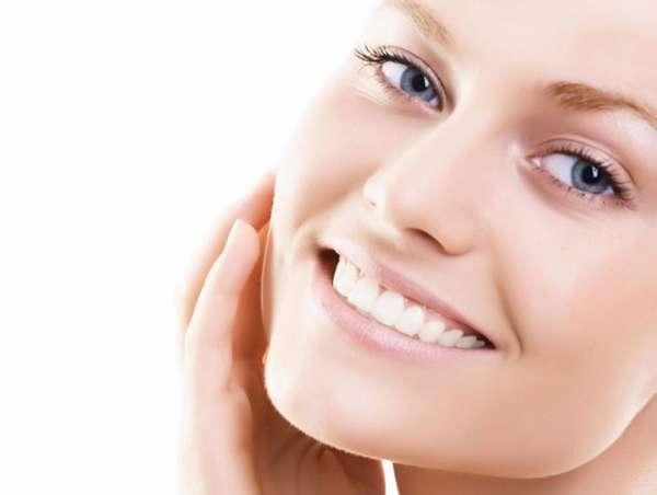 Здоровая кожа на лице