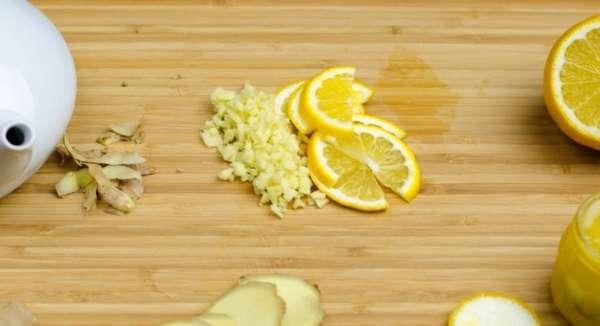 Измельченный лимон