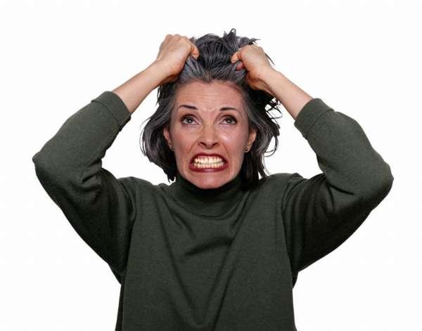 Раздраженная женщина